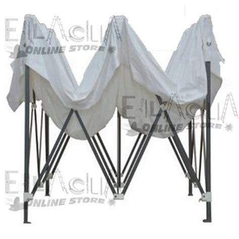 gazebo richiudibili gazebo bianco richiudibile a fisarmonica 3x3 con sacca per