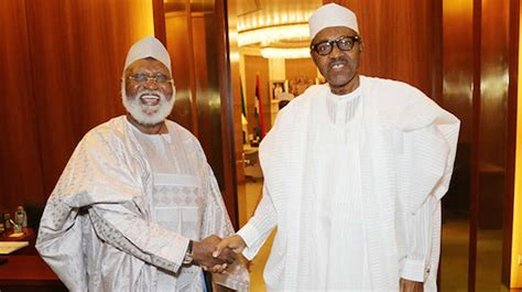 biography of president muhammadu buhari buhari meets abdulsalami abubakar at aso rock nigeria