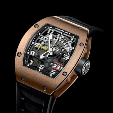 Richard Mille Gold richard mille rm 029 18k gold automatic