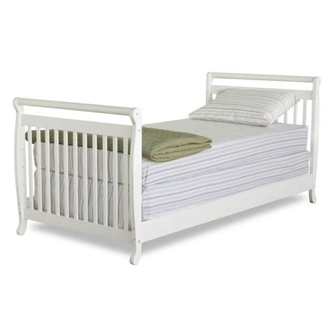 crib to twin bed davinci emily mini 2 in 1 convertible crib with twin bed