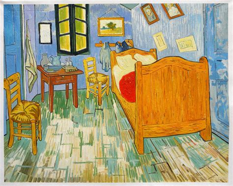 vincent s bedroom in arles 1889 vincent gogh paintings
