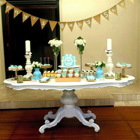 Blue And Gold Baby Shower by Blue White Gold Baby Shower Wish