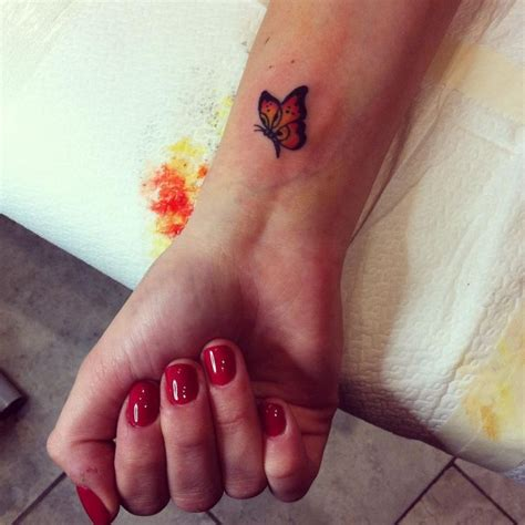 small butterfly wrist tattoo designs best 25 small butterfly ideas on