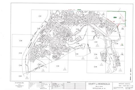 Monongalia County Tax Office by Monongalia County Index Maps