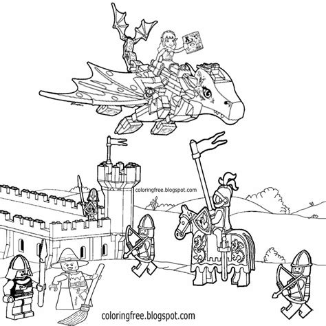 coloring pages lego castle lego dragon coloring pages elves sketch coloring page
