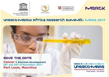 Merck Mba Program by Unesco Merck Africa Research Summit Mars 2017 Call For