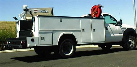 utility truck beds crane utility bed