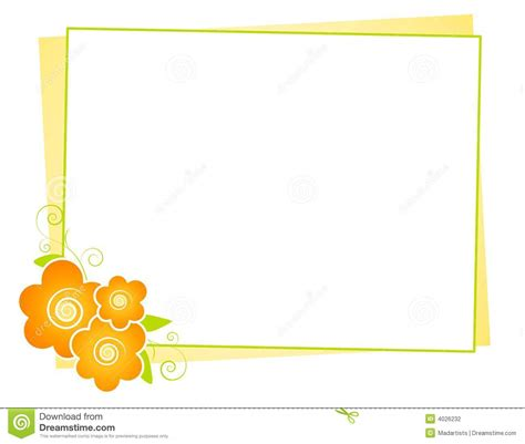 background design note yellow flowers note paper background stock photography