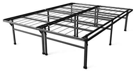 bedroom furniture high riser bed frame fastfurnishings full size 18 quot high rise folding metal