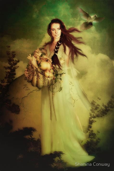Goddess Of The by Demeter Ceres Goddess Of Harvest Fertility And