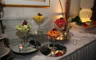fruit table for wedding reception catered fruit display table catering menues wedding