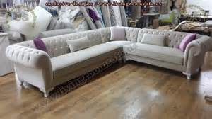 Chesterfield leather sofa living room sofa and corner sofa