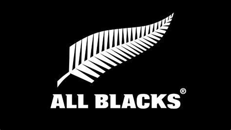 all black all blacks logo wallpaper