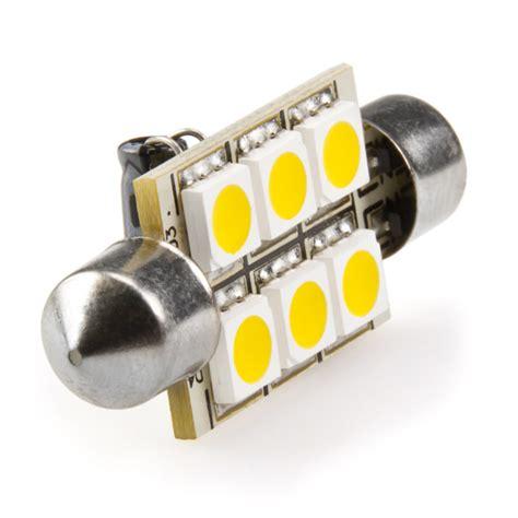 Led Light Bulbs For Rv 6451 Led Bulb 6 Smd Led Festoon 42mm Festoon Base Led Bulbs Rv Rv Led Replacement