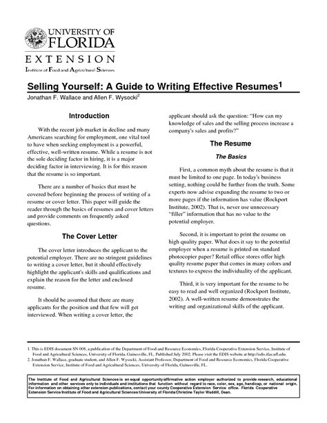 effective resume format exles effective resume templates sle camelotarticles