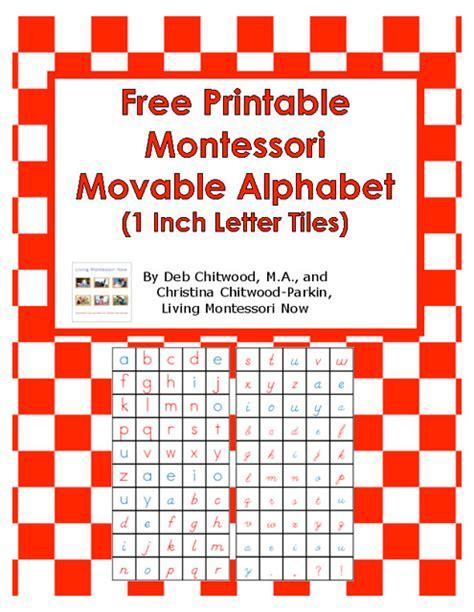 free printable montessori alphabet free printable montessori movable alphabet 1 inch letter