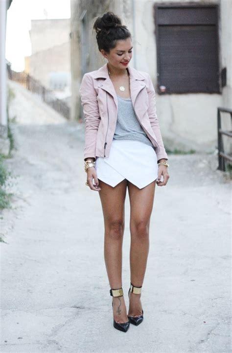 Mini Skirt Black White Jfashion right ways to wear mini skirts style inspiration looks 2018 fashiongum