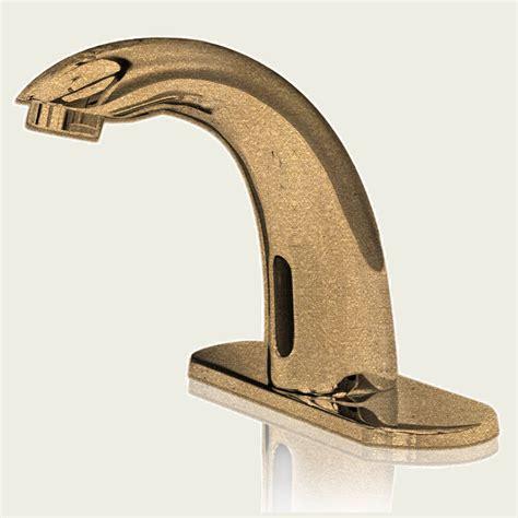 gold tone bathroom faucets buy lenox gold tone finish sensor faucet online