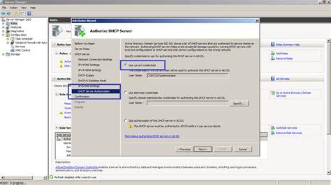 for dhcp installing dhcp server
