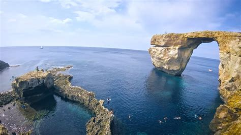 azure window before and after malta the azure window recently before collapse youtube
