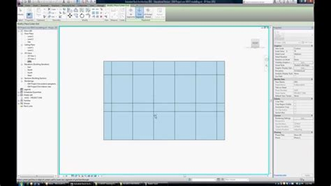 revit curtain wall tutorial 060 tutorial how to create a curtain wall in revit