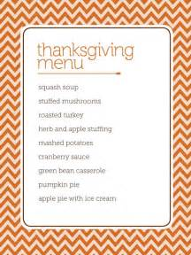Thanksgiving Menu Template Free by The Heckman Family Thanksgiving Ideas Free Printables