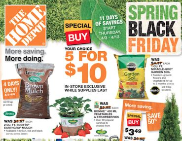 especiales home depot black friday