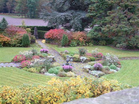 Sunken Gardens Ta the sunken garden sundial attadale gardens wester ross