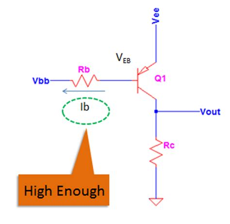 base current limiting resistor how to saturate a pnp transistor electronicsbeliever
