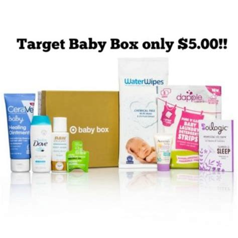 Target Baby by Target Baby Box Only 5 00 Deal