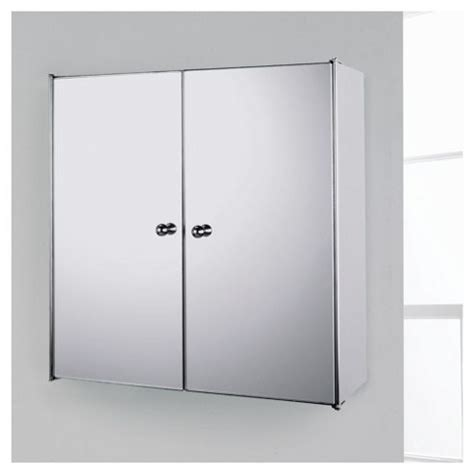 stainless steel mirrored bathroom cabinets buy stainless steel mirrored double door bathroom cabinet