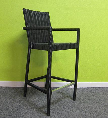 wicker bar stools with arms plastic rattan bar stool with arms plastic rattan bar