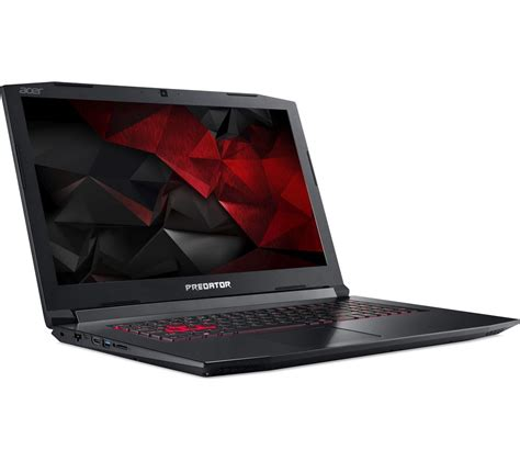 Laptop Acer Black buy acer predator helios 300 17 3 quot gaming laptop black