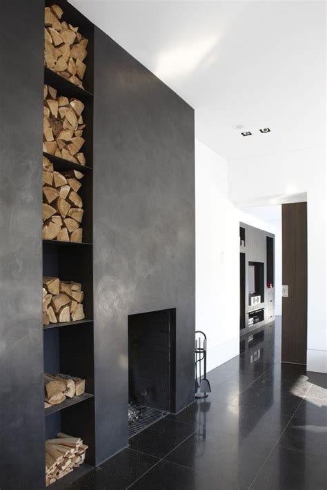 modern black fireplace 25 best ideas about concrete fireplace on