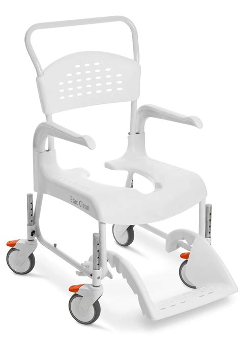 shower commode chair with wheels etac clean 24 in shower commode chair with wheelchair wheels