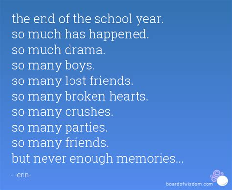 end of school year quotes and sayings
