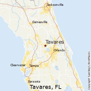 tavares florida map best places to live in tavares florida