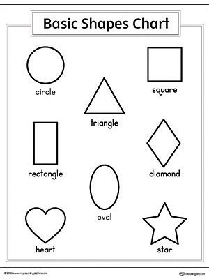 printable math shapes charts basic geometric shapes printable chart myteachingstation com