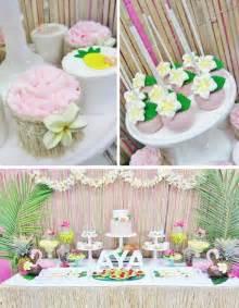 hawaiian party planning ideas supplies cake