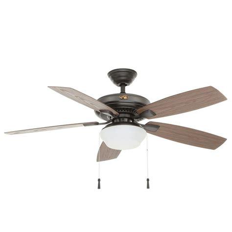 outdoor ceiling fan for gazebo hton bay sx2802 03 gazebo ii 52 quot led indoor outdoor