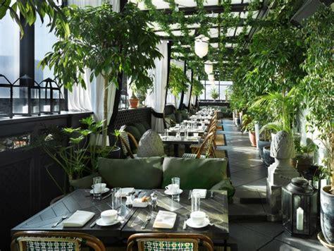 biophilia   cafe setting gramercy park hotel terrace