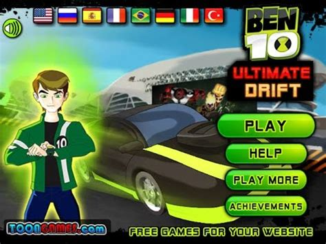 to play now play ben 10 ultimate drift car free