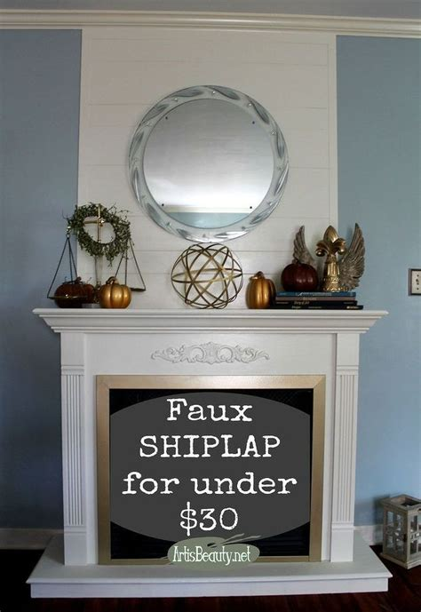 Easy Diy Fireplace Mantel by Cheap And Easy Faux Ship Fireplace Makeover Diy Fixerupperstyle Hometalk