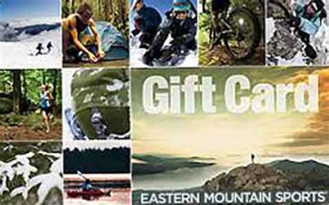 Eastern Mountain Sports Gift Card - buy eastern mountain sports discount gift cards giftcard net