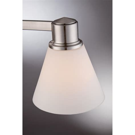 bathroom light fixtures brushed nickel finish quoizel ayr8603bn ayers with brushed nickel finish bath