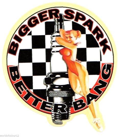 Oldschool Sticker Pin Up by Bigger Spark Aufkleber Sticker Pin Up Us Car Rockabilly