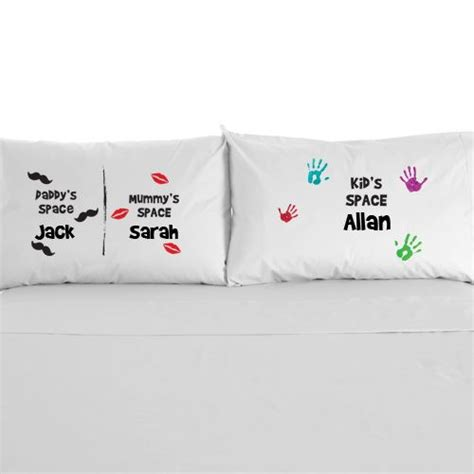 his and her side of the bed personalised childrens pillowcase babys side my side his side her side bed ebay