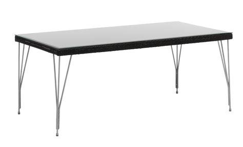 Plateau Table Exterieur 1449 by Table Rectangulaire Tresse 90 X 180 Cm