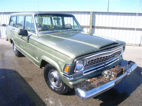 1971 Jeep Wagoneer 1414c19313093 Bidding Ended On 1971 Green Jeep Wagoneer