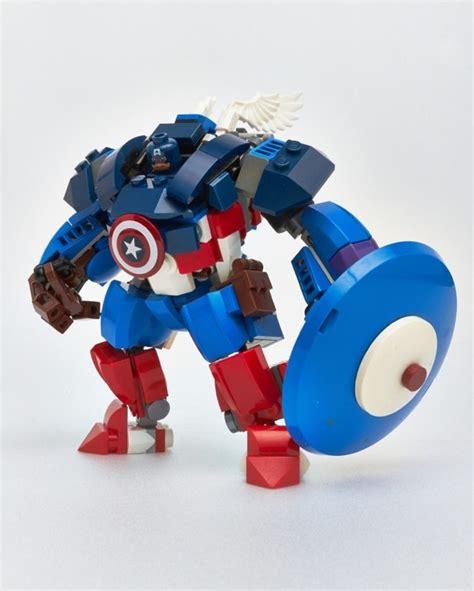 captain america mech suit lego ideas geekness